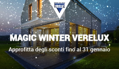 IL MAGIC WINTER VERELUX È ARRIVATO